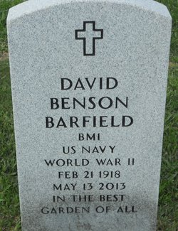 David Benson Barfield