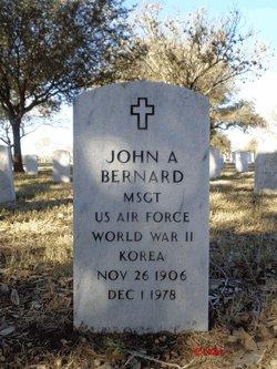 John A Bernard