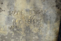 "Elizabeth ""Lizzie"" <I>Collins</I> Bright"