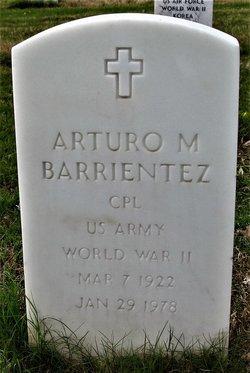 Arturo M Barrientez