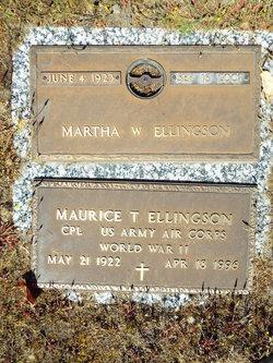 Martha W <I>Loken</I> Ellingson