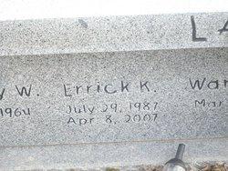 Errick K Lamb