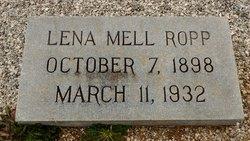 Lena Mell <I>Ropp</I> Brooks