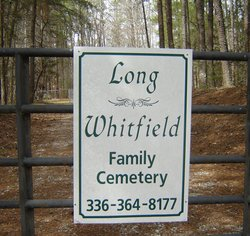 Long Whitfield Family Cemetery