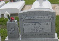 Edna Mae <I>Poullard</I> Cola