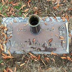 Vivian LaRue <I>Bolling</I> Nowell