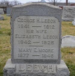 Elizabeth <I>Downey</I> Leech