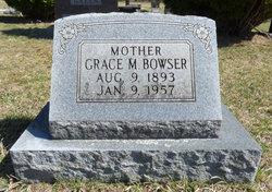 Grace May Belle <I>Roosa</I> Bowser
