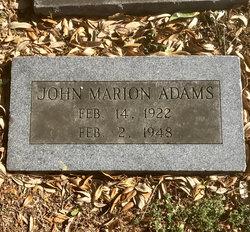 John Marion Adams