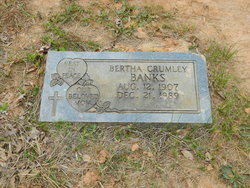 Bertha Mae <I>Crumley</I> Banks