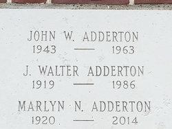 J. Walter Adderton