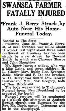 Frank James Berry