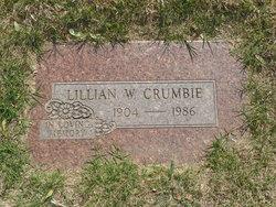 Lillian Winnie <I>Davis</I> Crumbie
