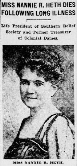 Nannie Randolph Heth
