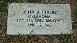 John A Philby