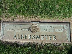 Paul W Albersmeyer