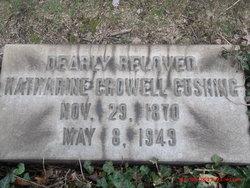 Katharine Stone <I>Crowell</I> Cushing