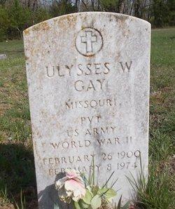 Ulysses W. Gay