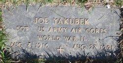 """Joseph """"Joe"""" Yakubek"""