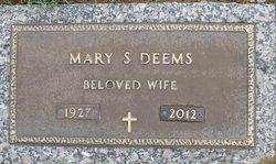 Mary Shirley <I>Wisneski</I> Deems