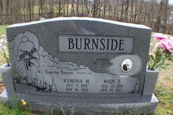 Ramona M. <I>Lemasters</I> Burnside