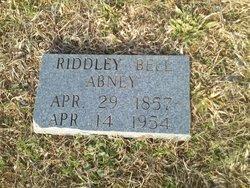 Riddley Belle <I>Anderson</I> Abney