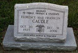 Florence Mae Franklin <I>Manahan</I> Caudle