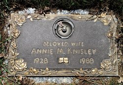 Annie M <I>Krout</I> Knisley