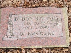 D. Don Billings