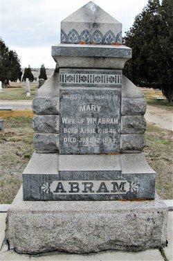 Mary <I>Lleywn</I> Abram
