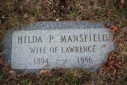 """Mathilda """"Hilda"""" <I>Parkin</I> Mansfield"""