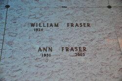 Anna Marie <I>Braden</I> Fraser