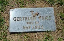 Gertrude Fries