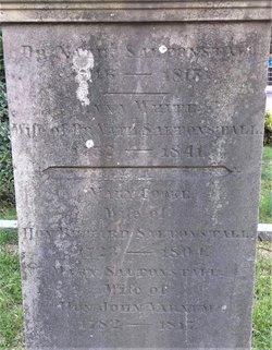 Mary Cook <I>Saltonstall</I> Varnum
