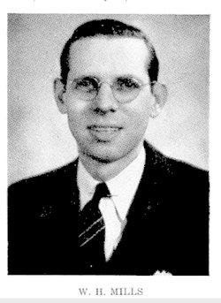 """William Harold """"Bill"""" Mills Sr."""