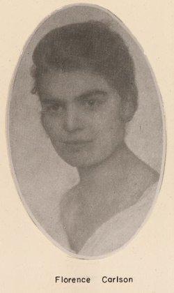 Florence <I>Carlson</I> Krage