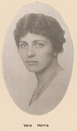 Vera <I>Harris</I> Bennington