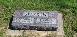 Minnie <I>Timberlake</I> Sparrow