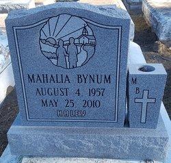 "Mahalia ""Haley"" Bynum"