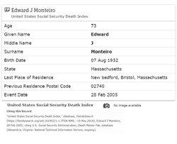 Edward J  Monteiro (1932-2005) - Find A Grave Memorial