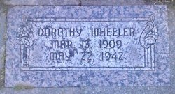 Dorothy <I>Petersen</I> Wheeler