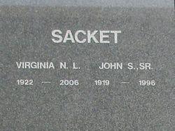 John S Sacket, Sr