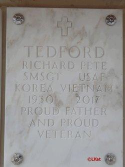 SMSGT Richard Pete Tedford