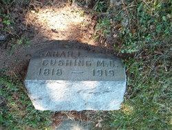 Dr Sarah L. <I>Lamb</I> Cushing