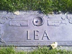 John G Lea