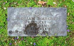 William Buchanan Argles