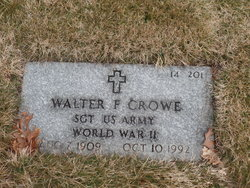 Walter F Crowe