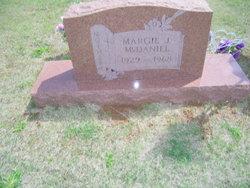 Marjorie Jewel <I>Jackson</I> McDaniel