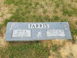 Thomas W Farris Sr.