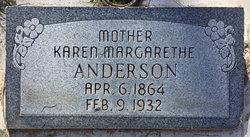 Karen Marguerite <I>Nielsen</I> Anderson